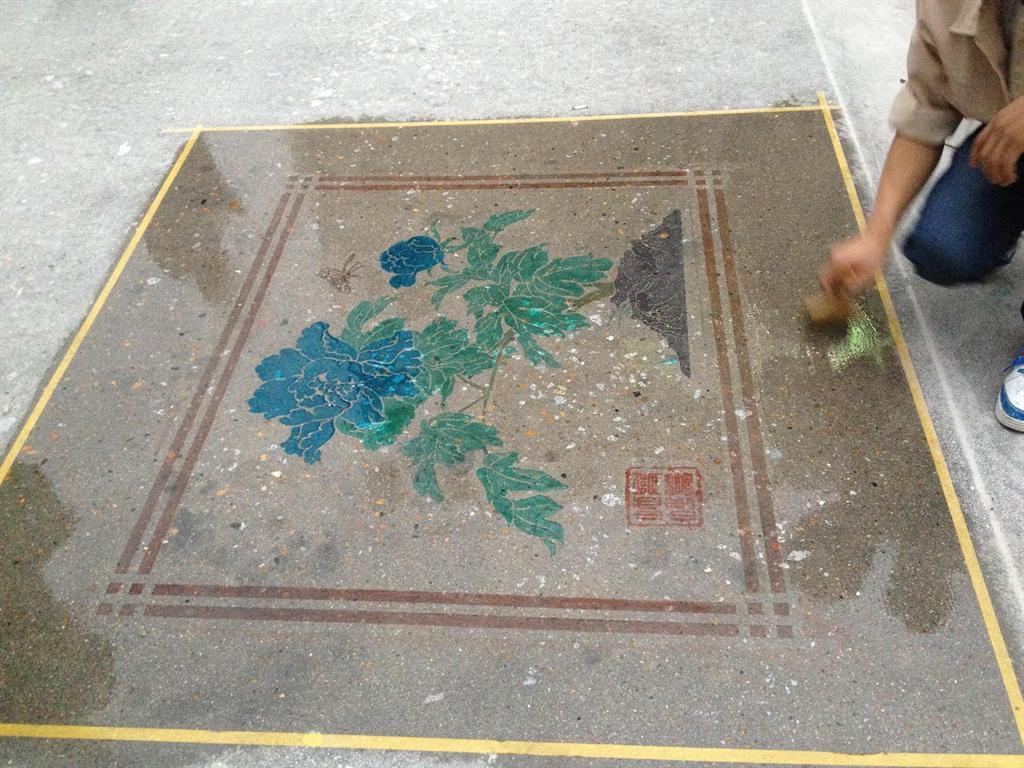 đánh bóng sàn bê tông công nghiệp