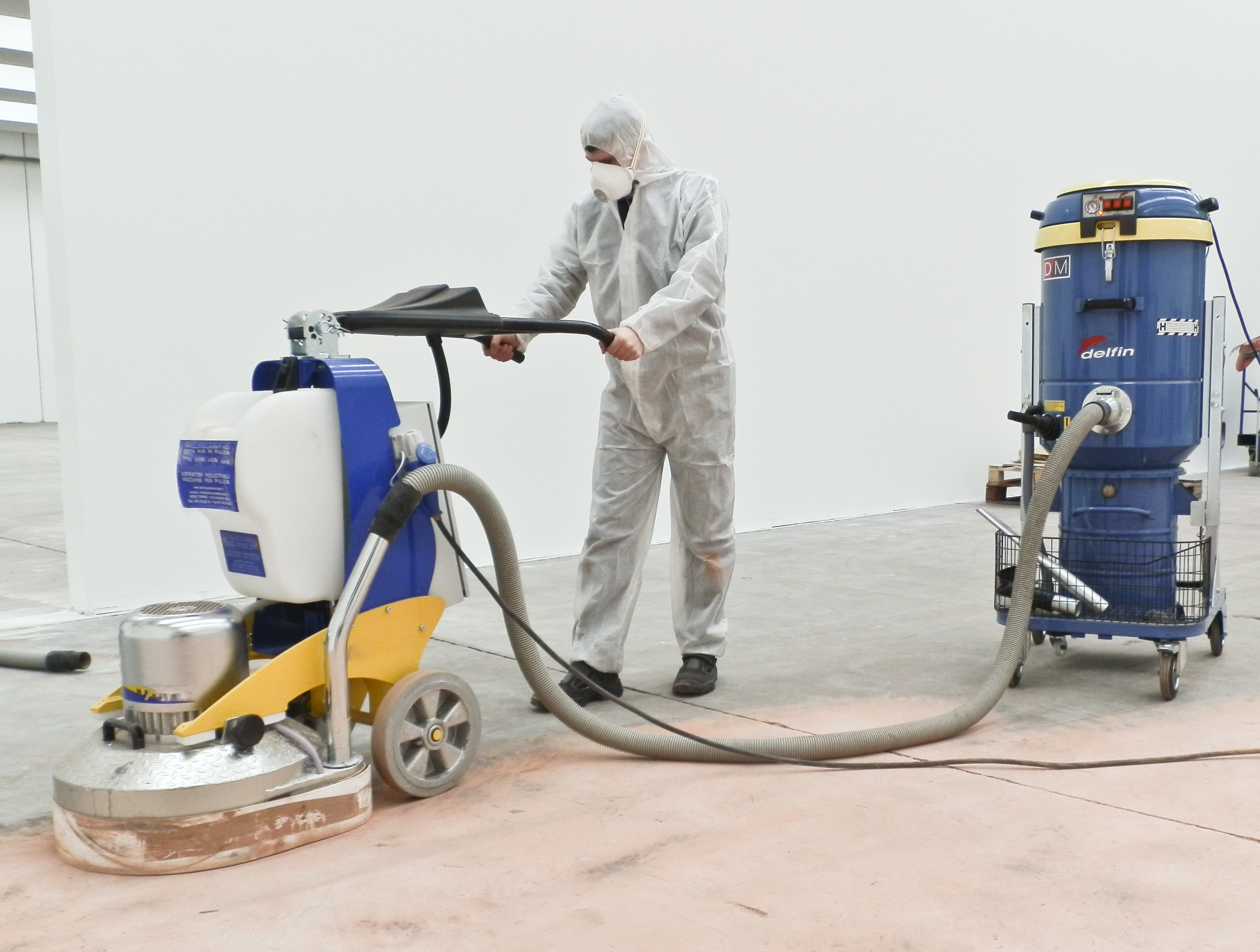 Máy hút bụi bê tông chuyên dụng DELFIN